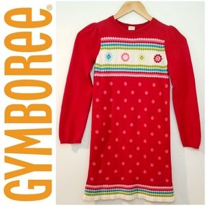 Gymboree Holiday Winter Sweater Dress Size 8